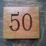 Fifty sign.