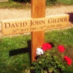 Oak cross memorial