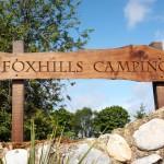 Foxhills Camping sign
