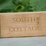 South Cottage house sign