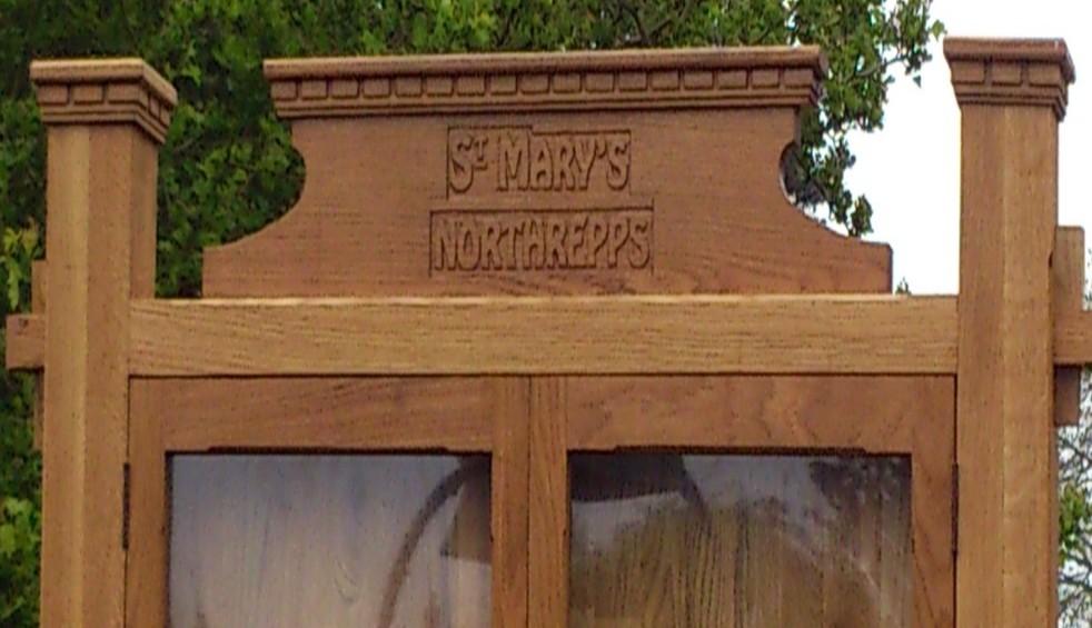 St Mary's notice board