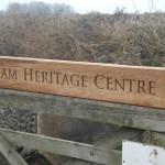 Aylsham Heritage Centre sign