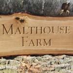 Malthouse Farm sign