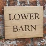 Lower Barn sign