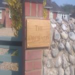 The Orchard, house sign